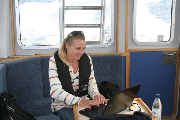 Anna Carin, blogger of this route.