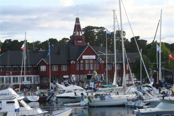Passing through sandhamn