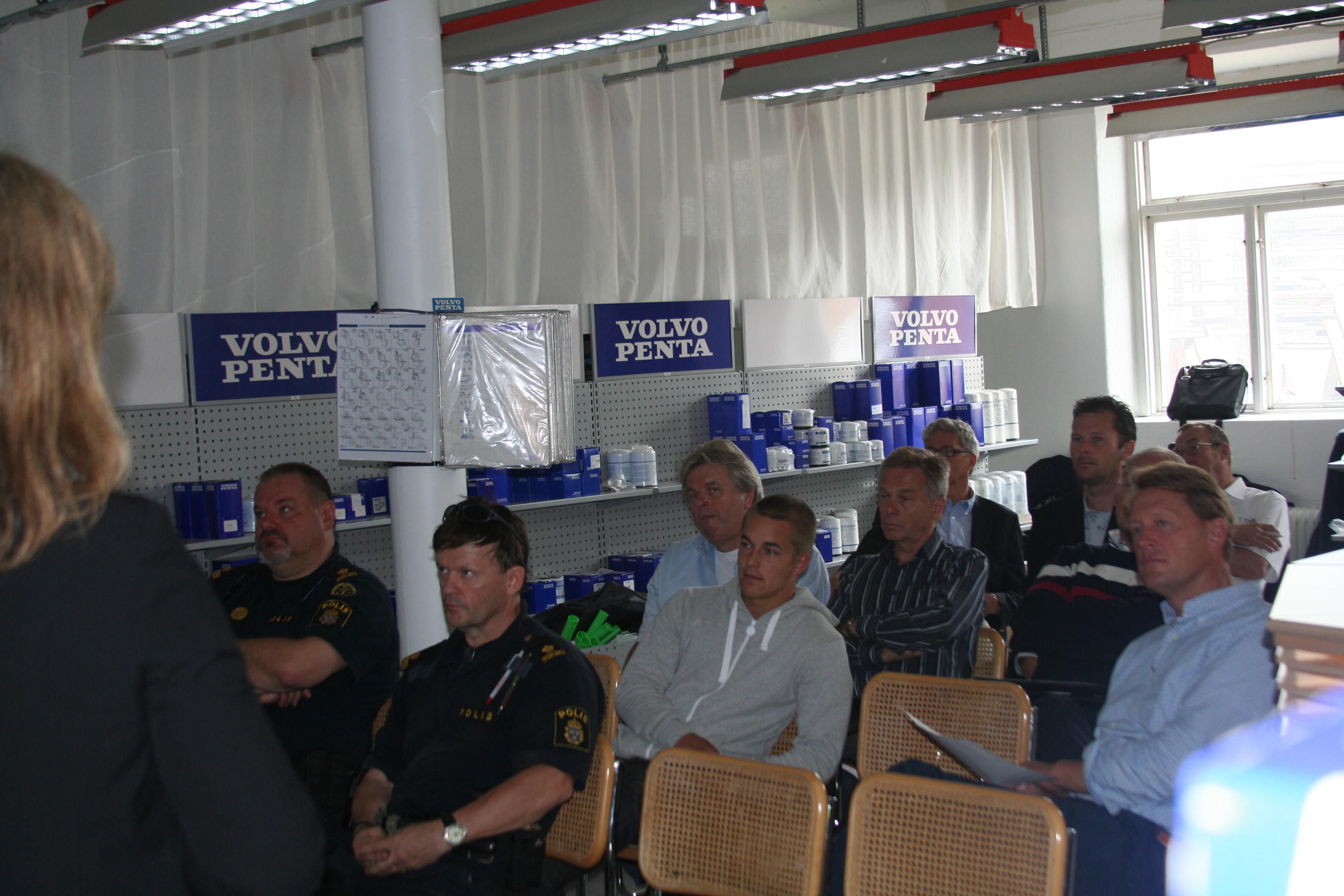 Customer Clinic at Rindö Marine Volvo Penta Center | Volvo Penta IPS Baltic Trip 2011