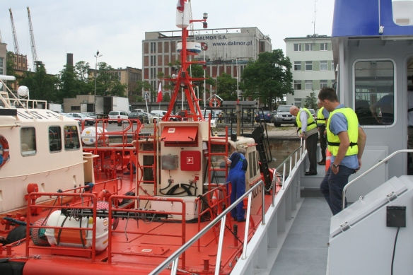 Visit Pilotboat in Gdynia
